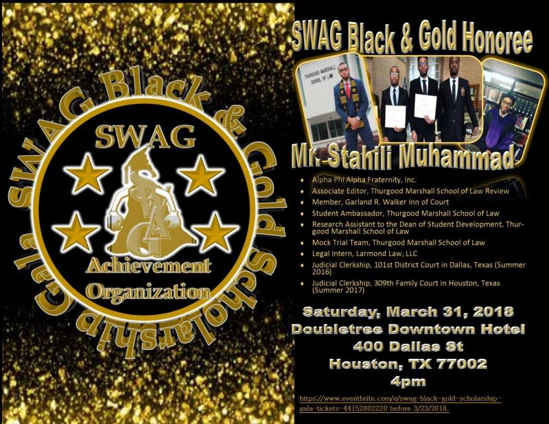 swag bg honorees