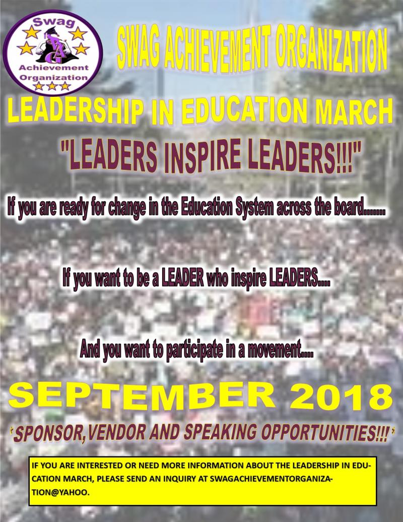 LEADERSHIP MARCH